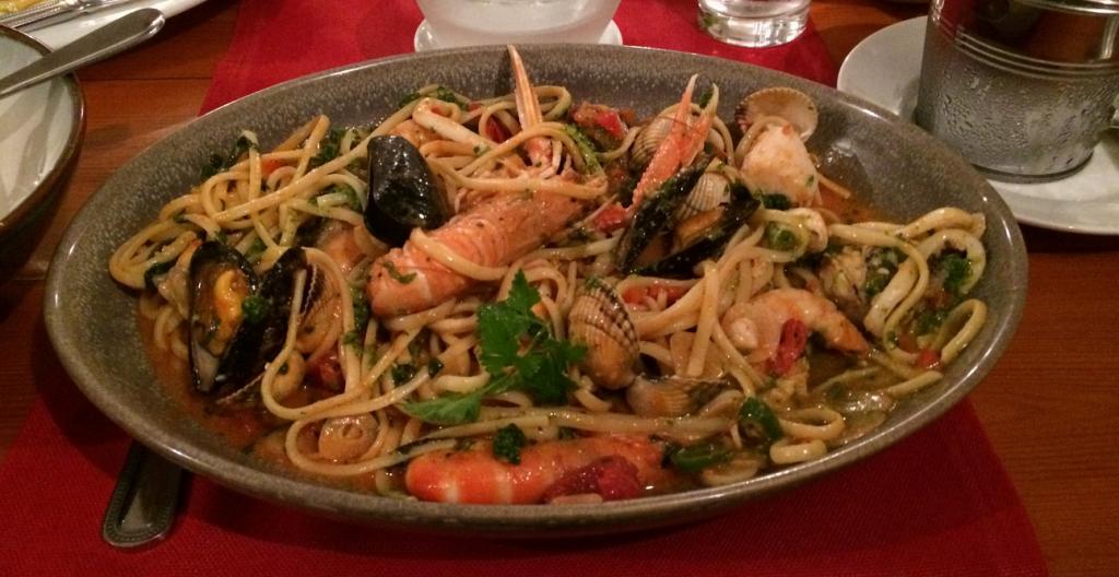 Seafood Linguine Doyles of Dingle